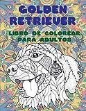 Golden Retriever - Libro de colorear para adultos