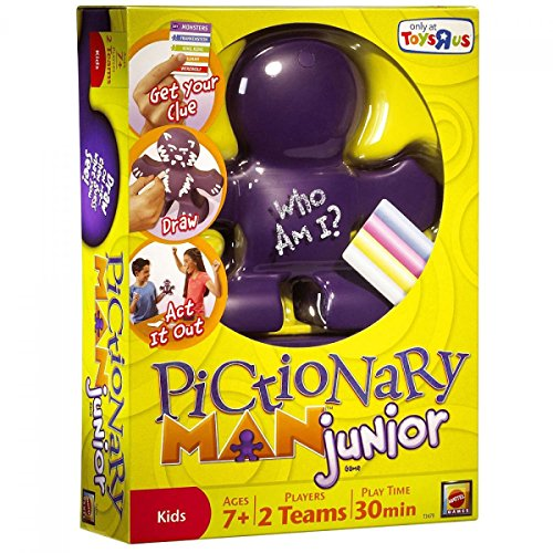 Pictionary Man Junior Jr. Juego de Mattel