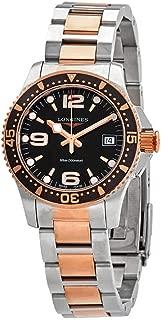 Longines Hydroconquest Diving Quartz Black Dial Ladies Watch L3.340.3.58.7