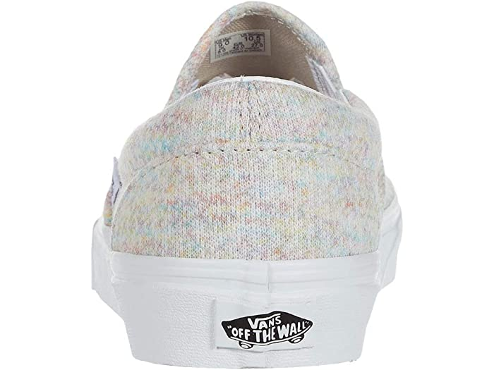 Vans Classic Slip-on™ (rainbow Jersey) Multi/true White Sneakers & Athletic Shoes