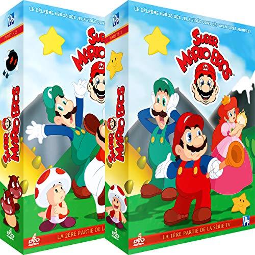 Super Mario Bros-Intégrale de la série TV-2 Coffrets (9 DVD)