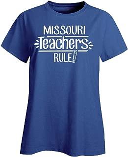 Missouri Teachers Rule - Ladies T-Shirt
