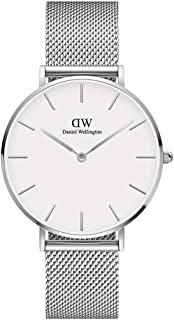 Daniel Wellington Petite Sterling Watch, Silver Mesh Bracelet