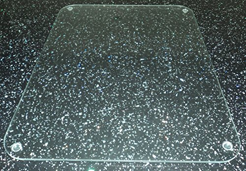 Tuftop Worktop Saver, Clear Smooth Finish, 40cm x 30cm