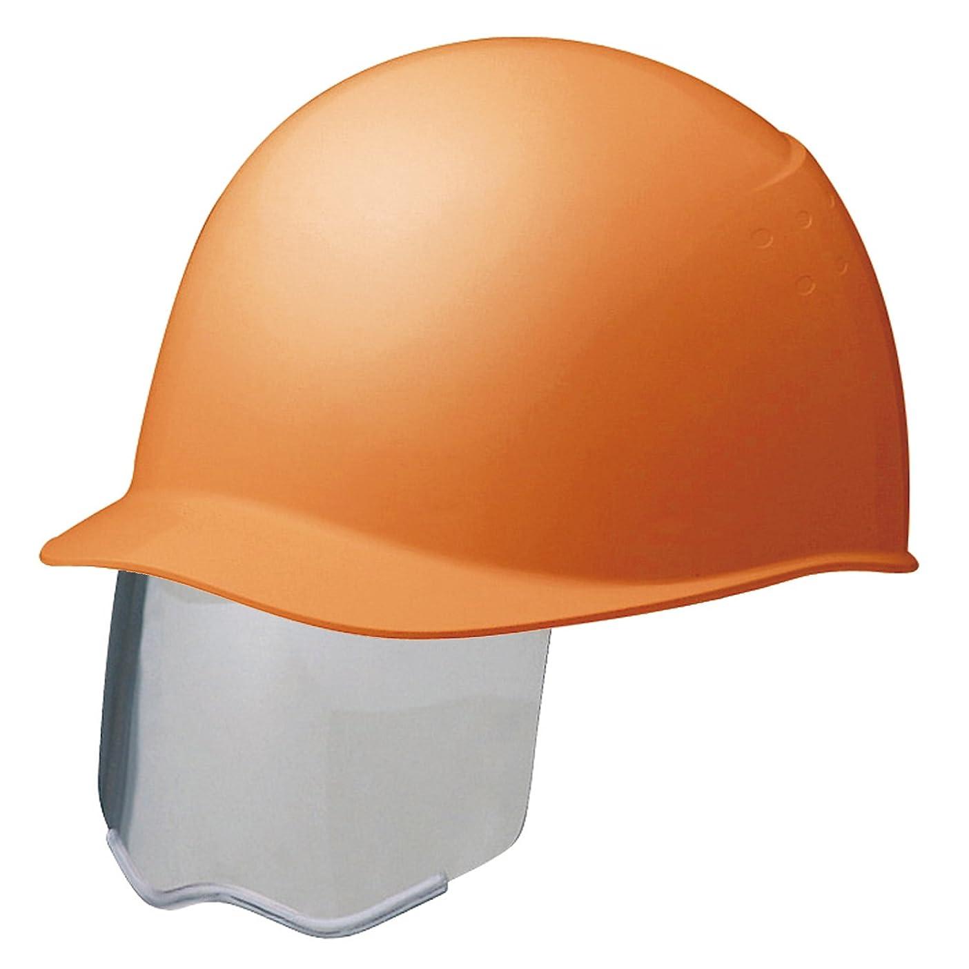節約ヘルメット救いミドリ安全 スライダー面付 ヘルメット 電気作業用 SC9BS RA KP付 オレンジ