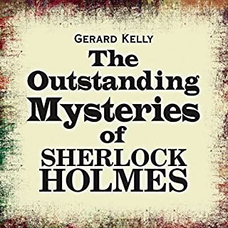 The Outstanding Mysteries of Sherlock Holmes cover art