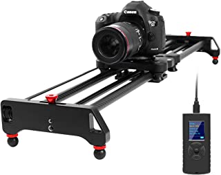 GVM Motorized Camera Slider Time Lapse and Video Shot, with Remote Controller, 120 Degree Panoramic Shooting 31