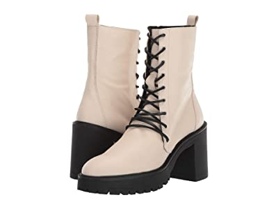 Free People Dylan Lace-Up Boot (White) Women