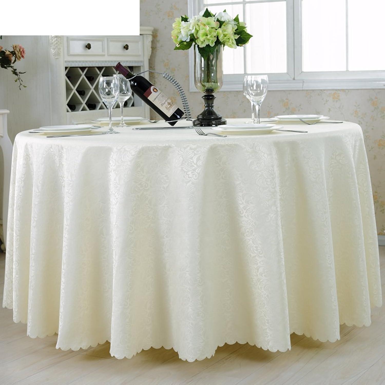 Hotels,Ronde Nappe,Tissus,Nappe Style Européen,Restaurant,Restaurant,Linge De Table Ronde Nappe-F 140x140cm(55x55inch)
