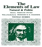 Elements of Law, Natural and Political - Routledge - 14/11/1969