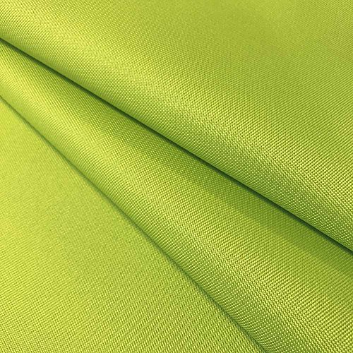 """Ottertex Canvas Fabric Waterproof Outdoor 60"""" Wide 600 Denier Sold by The Yard (1 Yard, Lime Green)"""