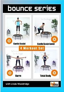 Barlates Body Blitz Bounce Series 4 Workout Rebounder