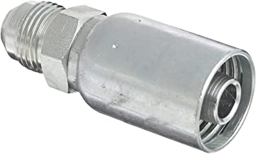 Eaton Weatherhead Coll-O-Crimp 08U-508 Male Rigid Fitting, SAE 37 Degree, Low Carbon Steel, 1/2