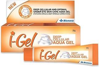 Bionova I-Gel Under Eye Cream For Dark Circle-25g, Puffiness, Wrinkles, Bags, Skin, Firming, Fine Lines-Deep Cellular Aqua...