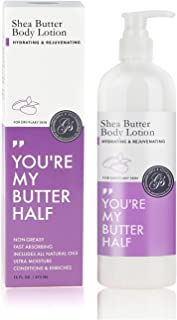 Grace & Stella Shea Butter Body Lotion - Hydrating & Rejuvenating (16 fl oz)