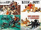 Poster 70 x 50 cm  James Bond 007     Feuerball  e