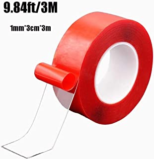 Nano Tape Traceless Washable Adhesive Tape Reusable Nano Tape Double-Sided Removable Tape for Home Wall Room Office Decor ...