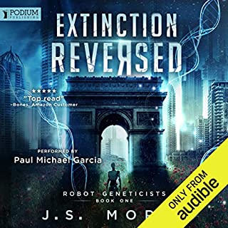 Extinction Reversed audiobook cover art
