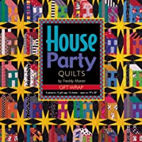 House Party Quilts Gift Wrap from Freddy's House 1571201122 Book Cover