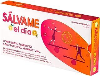 Sálvame el Día Adaptógeno. Alivia Estrés. Fatiga y Ansiedad. Equilibra el Organismo. Mejora el Ánimo. Aumenta Capacidad Trabajo. Rhodiola. Ashwagandha. Schisandra. Zinc Vitamina B12 B6 C. 30 Cápsulas