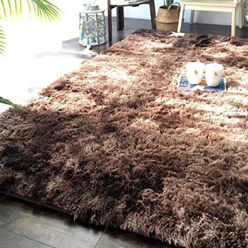 DHKJ Moquette Gradiente Salotto Tavolino Tappeto Lavabile Capelli Lunghi Camera da Letto Moderna Moquette (Poliestere) 1
