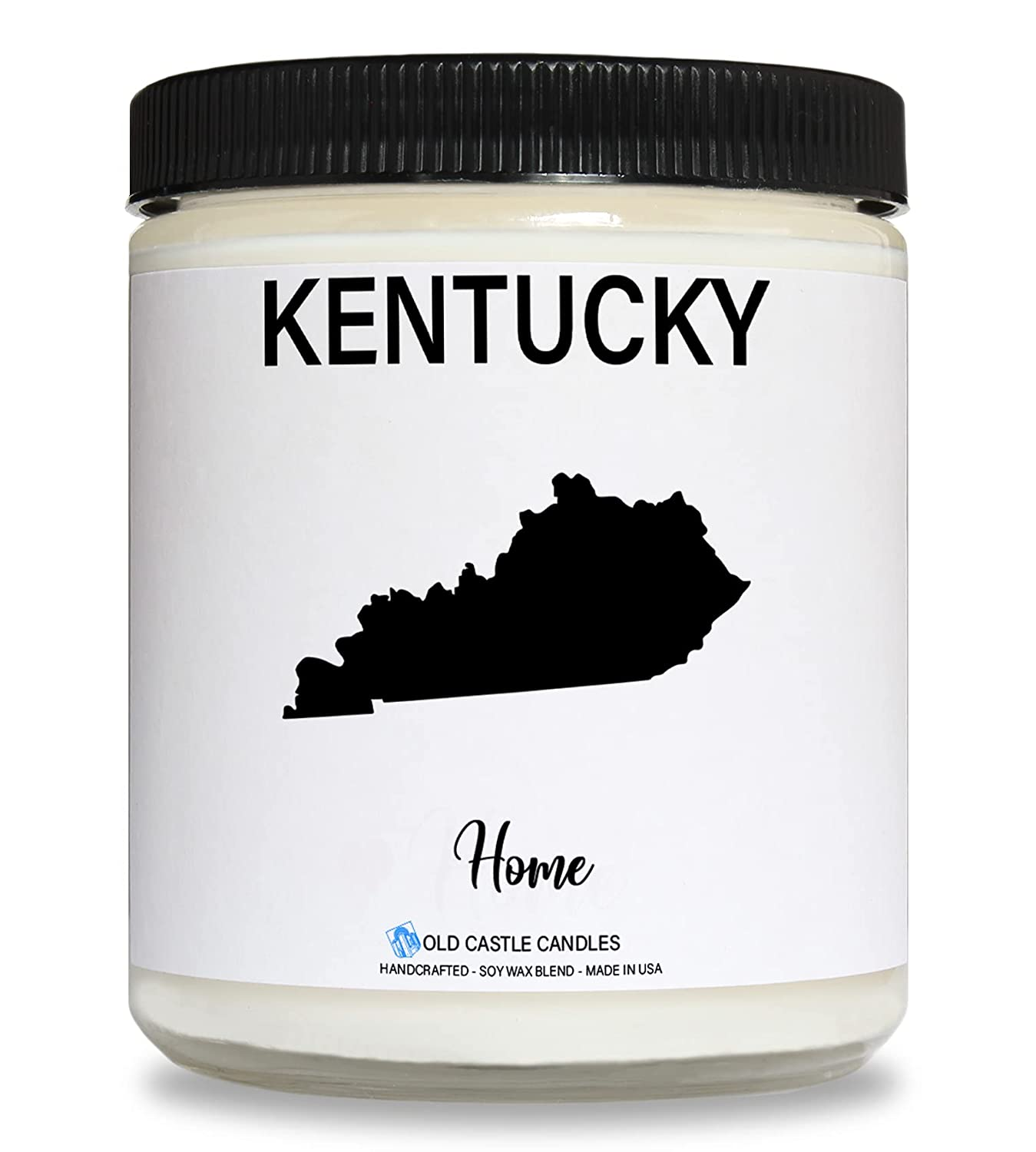 Kentucky Candle, Homesick Gift, Personalized College Dorm Decor, 8 ounce