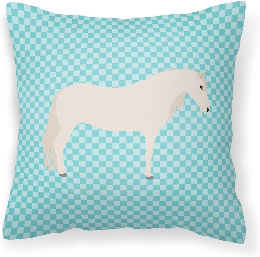 Caroline's Treasures Outlet sale feature BB8079PW1818 Paso Washington Mall Fino Fab Blue Check Horse