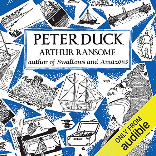 Peter Duck audiobook cover art