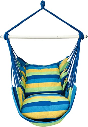 Highwild Hammock Chair Hanging Rope Swing - Best Hammock For Bed Replacement