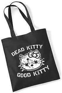 clothinx - Dead Kitty Good Kitty - Baumwolltasche