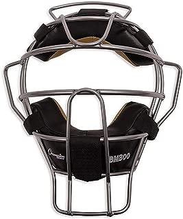 Champion Sports Ultra Lightweight Umpire Face Mask, Silver