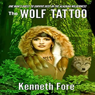 The Wolf Tattoo audiobook cover art