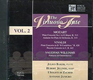 JULIUS BAKER - Vivaldi-Mozart-Flute Concerto-The Virtuoso Vol 2 (1 CD)