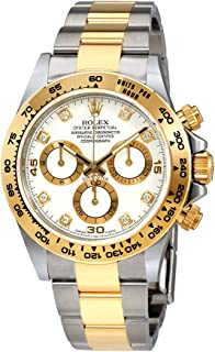 Rolex Oyster Perpetual Cosmograph Daytona White Diamond Dial Ladies Watch 116503WDO