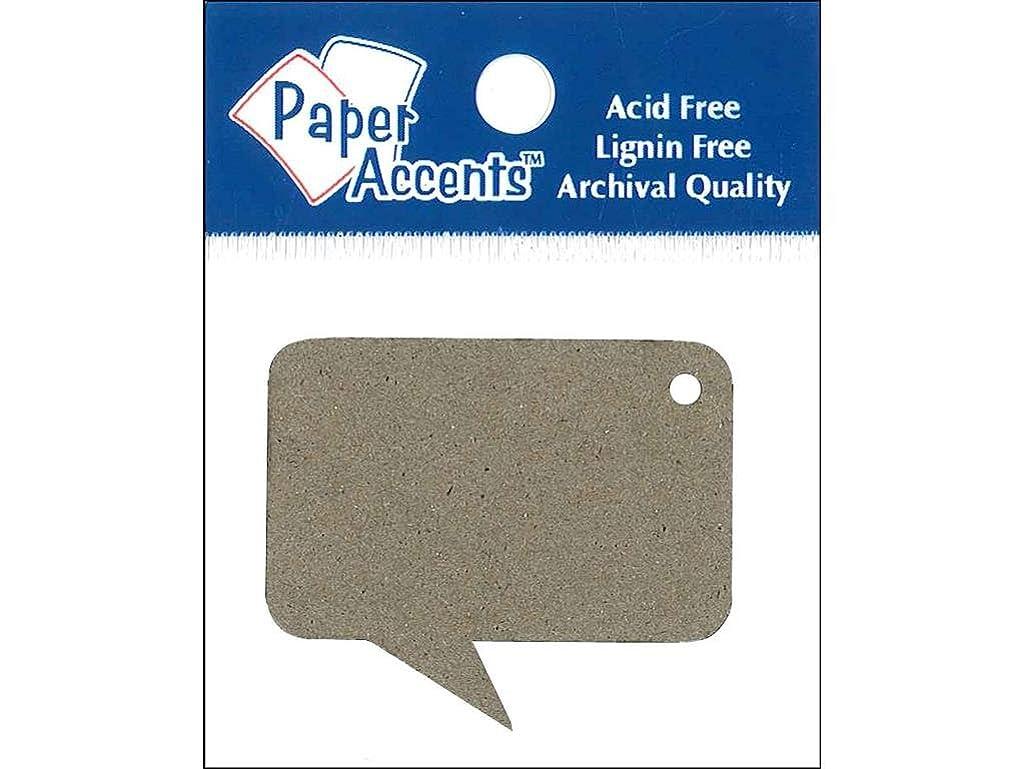 Accent Design Paper Accents Shape Chip Tag Caption