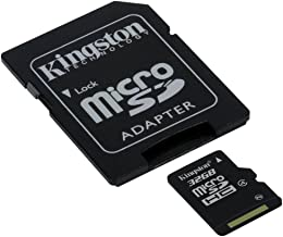 Kingston Professional MicroSDHC 32GB (32 Gigabyte) Card for Samsung Galaxy S3 Mini Smartphone with custom formatting and Standard SD Adapter. (SDHC Class 4 Certified)