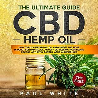 CBD Hemp Oil audiobook cover art