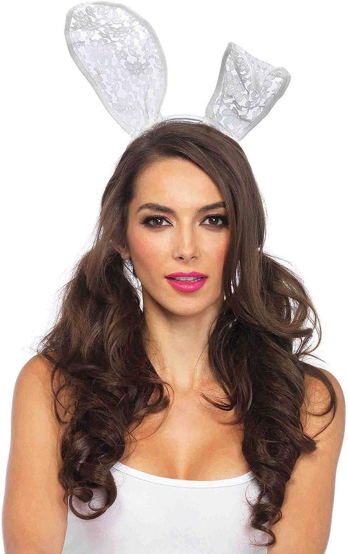 Ladies Animal Headband Womens Fancy Dress Rabbit Bunny Ears Headband Accessory