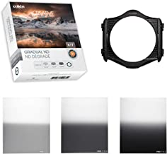 Sponsored Ad - Cokin Square Filter Gradual ND Creative Kit Plus - Includes M (P) Series Filter Holder, Gnd 1-Stop (121L), ...