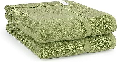 Onkaparinga Haven 600gsm Bath Mat 2 Pieces Set, Nile Green