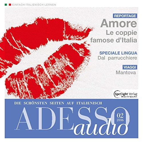 ADESSO Audio - Mantova. 2/2016 Titelbild