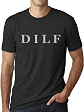 Think Out Loud Apparel DILF Funny T-Shirt Dad Humor Tee