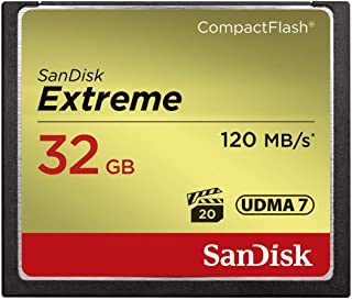 SanDisk Extreme SDCFXSB-032G-G46 32GB CompactFlash Memory Card (Renewed)