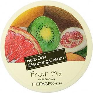 ザ·フェイスショップ The Face Shop ハーブデイ クレンジングクリーム 150ml (フルーツミックス) The Face Shop Herb Day Cleansing Cream 150ml (Fruit Mix)[海外直送品]