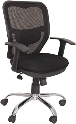 KS Trader KST-316 Mesh Back Office Chair (Black)