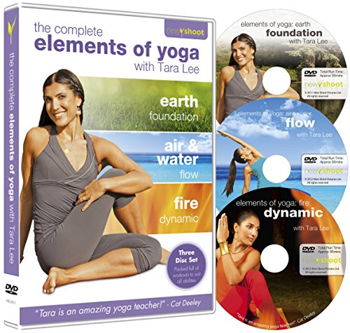 Tara Lee: Elements of Yoga (3 DVD Boxset: Earth, Air & Water, Fire)