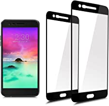 [2-Pack]Full Coverage Tempered Glass Screen Protector For LG K20 plus/K20V (Verizon)/LG Harmony/LG V5/K10(2017) with Lifetime Replacement Warranty