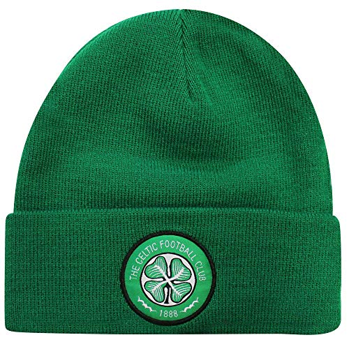 Celtic Official FC Crest Winter Bronx Hat