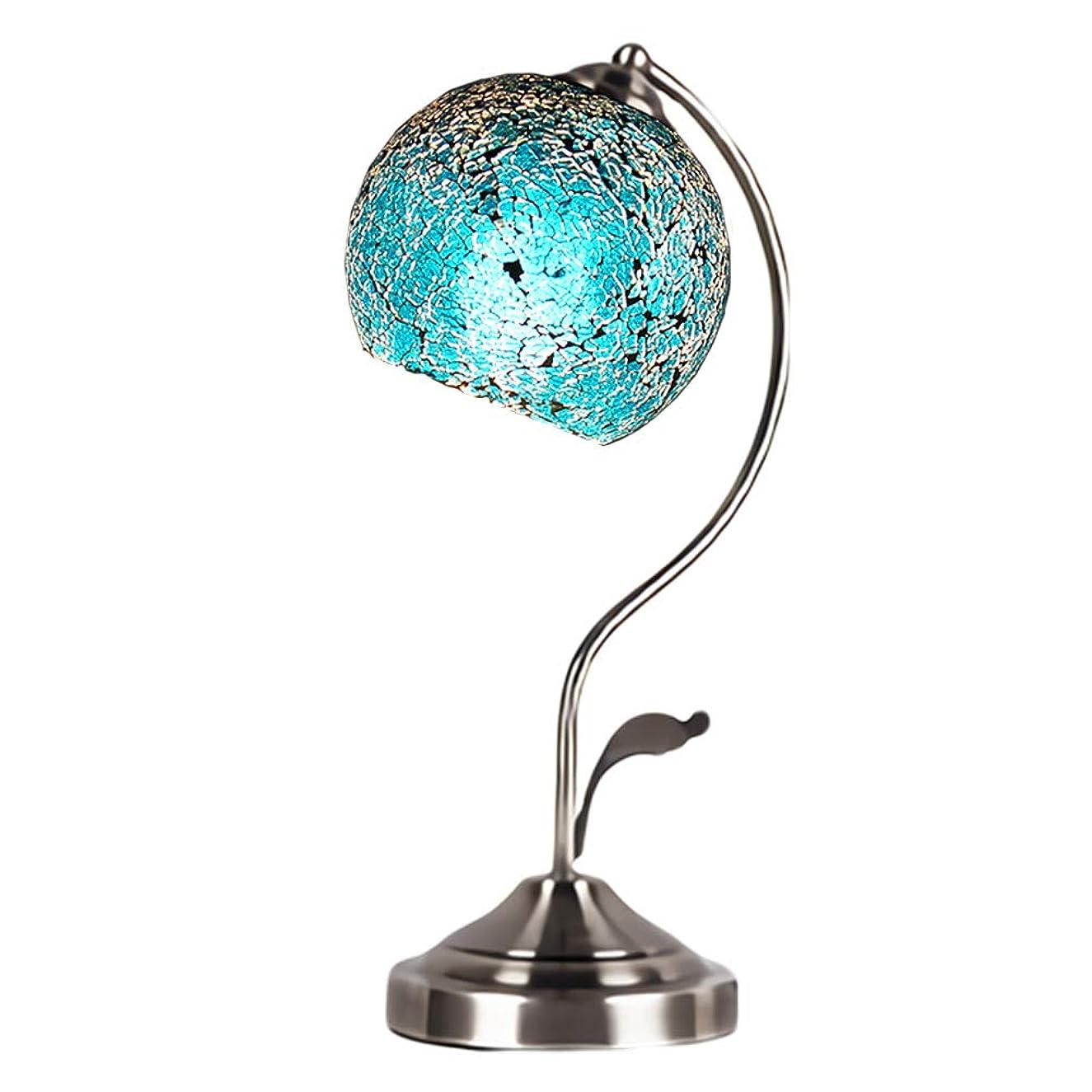 センブランス賞賛する前提条件モザイクランプ スタンド型 デスク テーブル ルームライト ガラスランプ 照明 イルミネーション インテリア プレゼント アンティーク