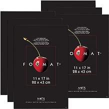 MCS 11x17 Inch Format Frame 6-Pack, Black (65637)